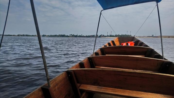 En route vers l'île
