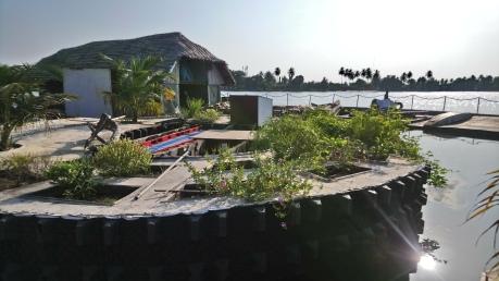 Le jardin de l'île