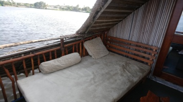 La terrasse de la chambre Koh-Lanta